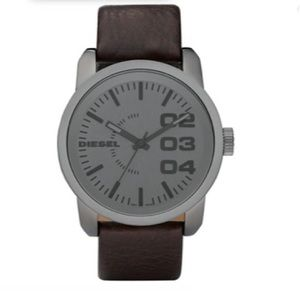 Diesel Double Down Gunmetal Watch 45mm